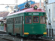 阪堺電車の現役最古、復元車「モ161号車」が期間限定で通常運行