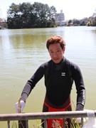 阿倍野を盛り上げるボランティア「あべ若丸」、桃ヶ池公園をクリーンアップ