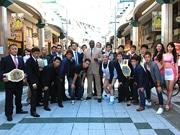 通天閣で格闘技イベント「ホーストカップ」発表 谷山佳菜子選手ら意気込み