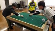 足立・新田 に「おはじきサッカー」公式スタジアム ワールドカップを目指し始動