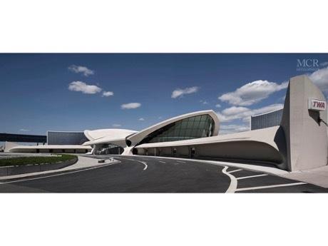 歴史的「TWAターミナル」がJFK初の空港内ホテルに 2018年開業に向け工事進む