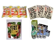 Koshihikari Sanchi Tabekurabe Set at Niigata Airport Store - More Local Specialties