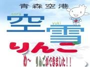 "Experiment to Bury ""Sorayuki Apples"" and Enhance Flavor a Success -Distribution and Sales at Aomori Airport"