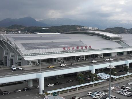 Solar Panels At Fukuoka Airport Nearly As Large As Haneda