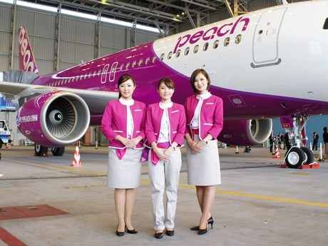 250-Yen One-Way Flights in Sales Promo from New LCC Peach - Airport News Japan