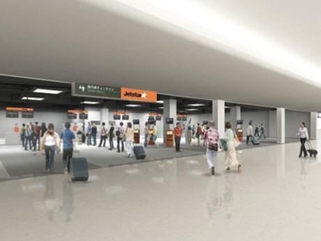 Temporary LCC Facility Opens at Narita Airport