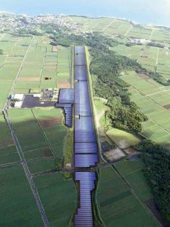 Где находится солнечная электростанция