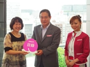 Peach Donates Proceeds of 1st KIX-SDJ Flight to Earthquake Evacuees in Kansai