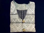 赤坂のギャラリーで「刺し子」衣料販売 80年前の古布で作ったコートなど