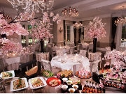 赤坂の結婚式場に期間限定「夜桜ビュッフェ」 ゲストハウスを一般開放