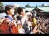 日枝神社で今年も節分祭 ミス上智・天野一菜さんや岡田結実さんらが豆まき