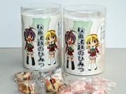 秋田の伝統的和菓子「もろこし」に「美少女キャラ」パッケージ商品