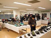 秋田でプラ模型アート展 愛好家らミリタリー中心に150点展示