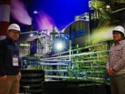 尼崎で「魅せる」工場写真展 作品の魅力を建築家が演出