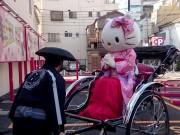 浅草にハローキティ駐車場 初のコラボレーション、辻希美さんも祝福