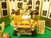 久月本店が今年の「期待大将」 琴奨菊関、内村航平選手ら五月人形に
