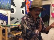 バリ島に日本人グラフィックデザイナーのバティックショップ