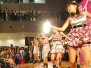 フリフル華麗にデビューー滋賀発7人組アイドル、ダンスと歌で観客魅了