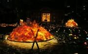 草津で秋の風物詩「街あかり」 旧街道や寺社を明かりで照らす