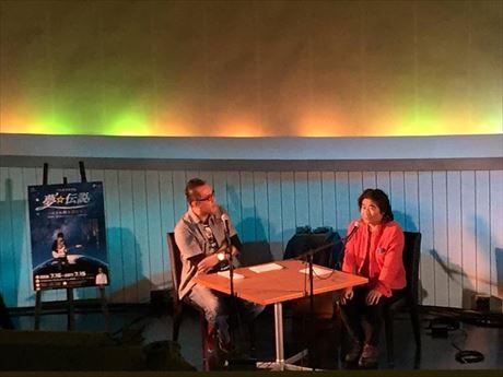 守山のプラネタリウムでトークショー スタレビ根本さんと星のお兄さん出演