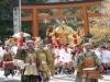 湖国の春を告げる祭り-日吉大社で「山王祭」、勇壮なみこし振りも