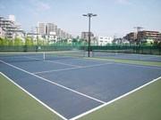 調布に都内初の全豪仕様コートのテニスクラブ-国内2カ所目