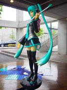 2012年05月11日<br/>調布・仙川のギャラリーで関口茂るさん企画展-「初音ミク」フィギュアなど