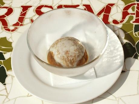 ホルモン「い志井」系列店で夏限定「黒糖かき氷」−「濃厚で滑らかな氷」好評