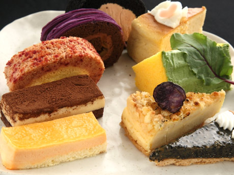 調布パルコに期間限定「野菜ケーキ店」−野菜ソムリエ認定レストランが出店