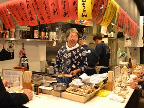 ホルモン・い志井、国領に串焼き店「もつやき処 い志井」−「熊王ラーメン」隣に
