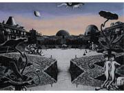 調布・仙川の美術館で出店久夫さんの版画展「-1945-忘却と記憶-2015-」