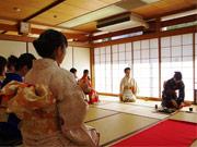 狛江でお茶席体験 20周年記念で若手能楽師「能」体験も