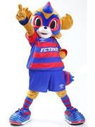 FC東京マスコット「東京ドロンパ」人気投票1位に 石川選手「きたあぁぁぁー」
