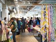 調布・京王閣で初の「布博」 手紙社企画、作家80組が「布の街」に集結