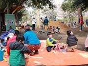 狛江に常設プレーパーク 多摩川沿いに新たな子どもの居場所