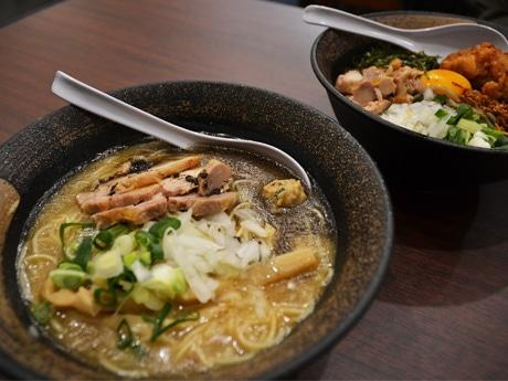 調布駅東口・ラーメン激戦区に新店 中華と融合した独自「濃厚鶏白湯」