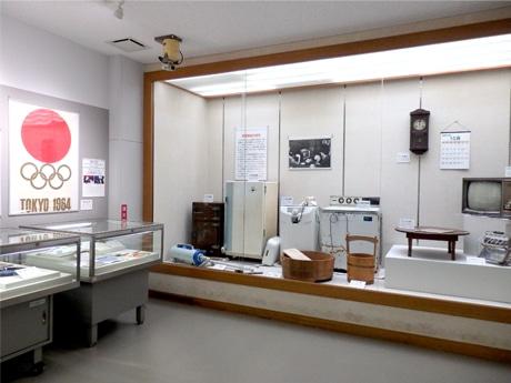 調布で東京五輪開催時の暮らし振り返る企画展 当時の電化製品など紹介