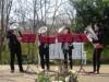 調布の欧風庭園アンジェで「バラ祭りガーデンコンサート」