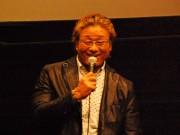 福井で天龍源一郎さん舞台あいさつ プロレス「引退ロード」つづる映画PR