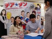 福井でコミック「チア☆ダン」サイン会 作者・きみど莉央さん招き