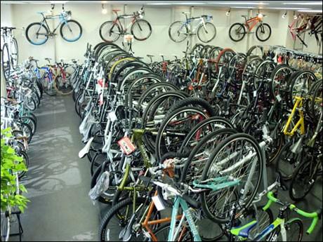 100台以上のスポーツサイクルが ...