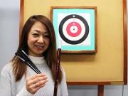 銀座の「スポーツ吹矢」用具店、吹き矢体験レーンや高気圧酸素ボックスを導入