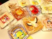 銀座の「アイシングクッキー」店で合格祈願などのメッセージ入りクッキー