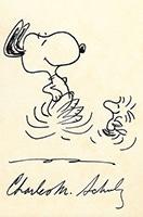 銀座でチャールズ・M・シュルツさんの直筆画など展示販売