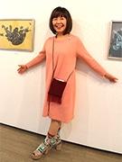 銀座のシロタ画廊で奥山民枝さん個展 「雲の種」テーマに