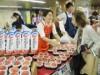 銀座駅構内で「福島産直市」 地酒や銘菓などの特産品販売