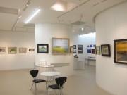 八戸で地元風景テーマの企画展 写真や絵画など、蕪嶋神社復興支援も