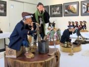 八戸でえんぶり人形展・写真展 人形26点、写真22点を展示