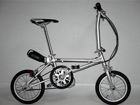 超軽量折り畳み自転車に新 ...