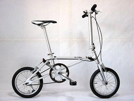 軽量折り畳み自転車に新モデル ...